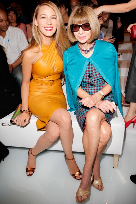 blake lively and anna wintour