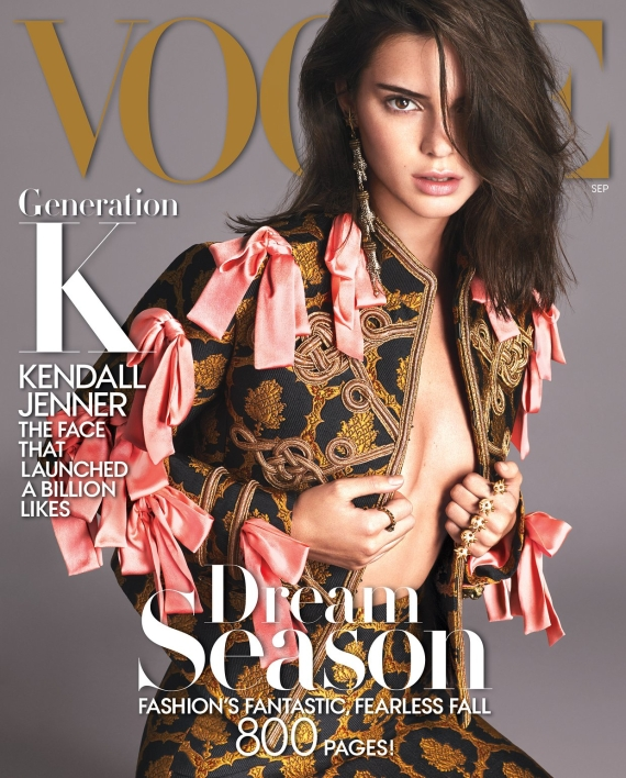 Kendall Jenner cover vogue