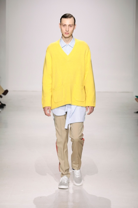 Ovadia & Sons SS18 Yellow Sweater